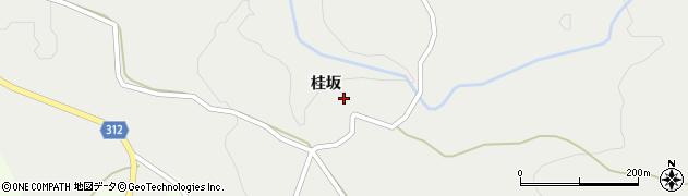 秋田県にかほ市伊勢居地桂坂25周辺の地図