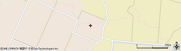 秋田県由利本荘市矢島町元町(後大久保)周辺の地図