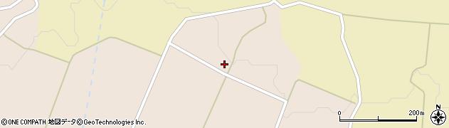 秋田県由利本荘市矢島町元町(御嶽の上)周辺の地図