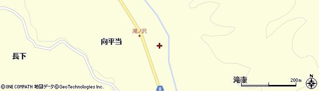 岩手県奥州市江刺米里(中郡)周辺の地図