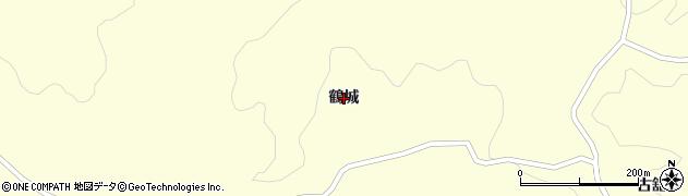 岩手県奥州市江刺米里(鶴城)周辺の地図