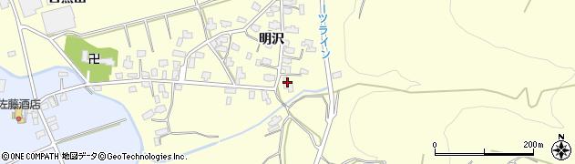 沢口神社周辺の地図