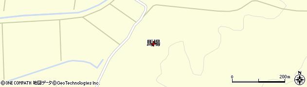岩手県奥州市江刺米里(馬場)周辺の地図