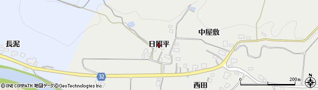 秋田県由利本荘市矢島町新荘(日照平)周辺の地図