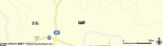 岩手県奥州市江刺米里(仏領)周辺の地図