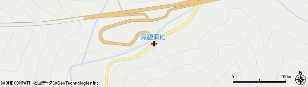 滝観洞IC周辺の地図