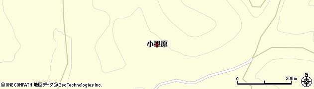 岩手県奥州市江刺米里(小里原)周辺の地図