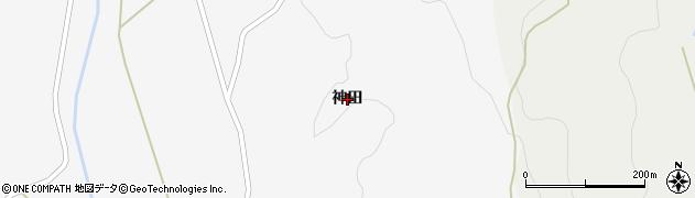 岩手県奥州市江刺稲瀬(神田)周辺の地図