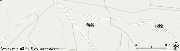 岩手県奥州市江刺広瀬(荒谷)周辺の地図