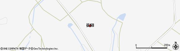 岩手県奥州市江刺稲瀬(払田)周辺の地図