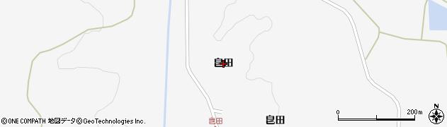 岩手県奥州市江刺稲瀬(皀田)周辺の地図