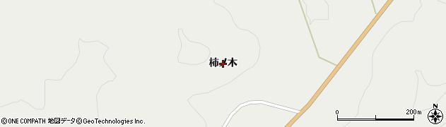 岩手県奥州市江刺広瀬(柿ノ木)周辺の地図