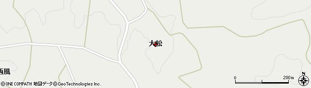 岩手県奥州市江刺広瀬(大松)周辺の地図
