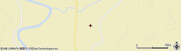 秋田県由利本荘市東由利黒渕(野中)周辺の地図