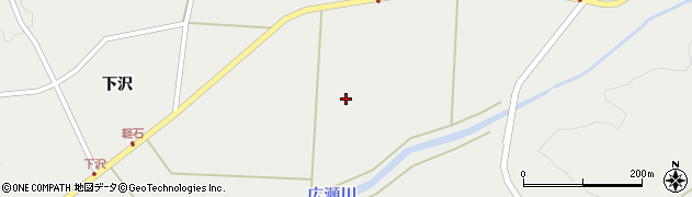 岩手県奥州市江刺広瀬(西田)周辺の地図
