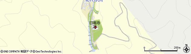 日高寺周辺の地図