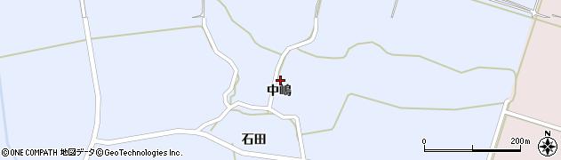 秋田県にかほ市田抓中嶋42周辺の地図