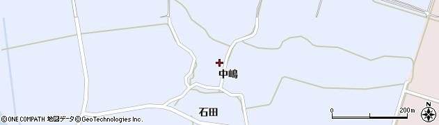 秋田県にかほ市田抓中嶋46周辺の地図