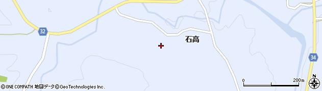 秋田県由利本荘市東由利田代(熊高沢)周辺の地図