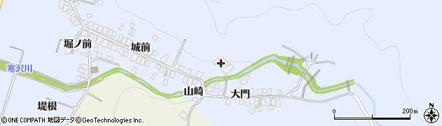 禅林寺周辺の地図