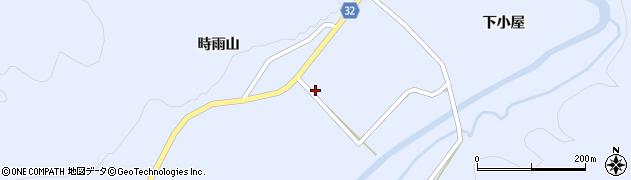 秋田県由利本荘市東由利田代(福島野)周辺の地図