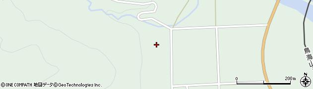 秋田県由利本荘市吉沢(赤飯沢)周辺の地図