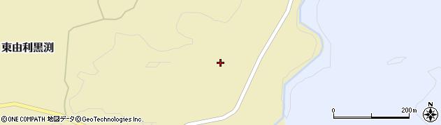 秋田県由利本荘市東由利黒渕(下田代)周辺の地図