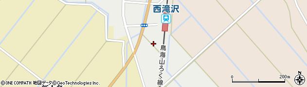 秋田県由利本荘市山本(前田表)周辺の地図
