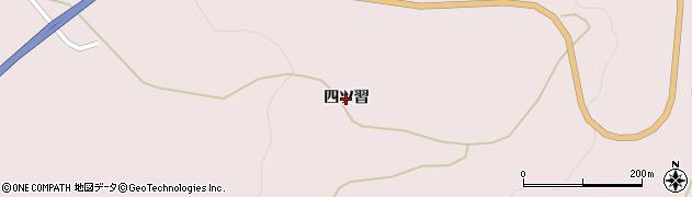 岩手県奥州市江刺梁川(四ツ習)周辺の地図