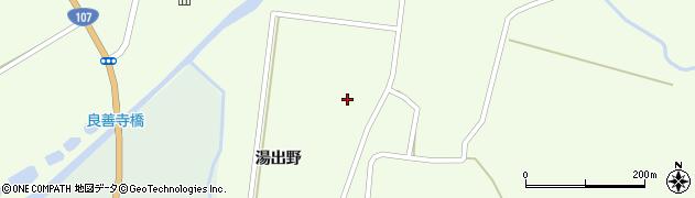 秋田県由利本荘市東由利老方(野田)周辺の地図