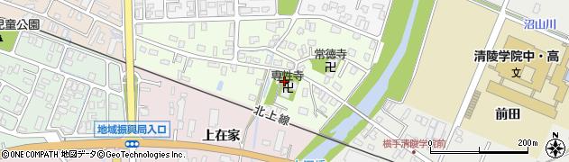 専性寺周辺の地図