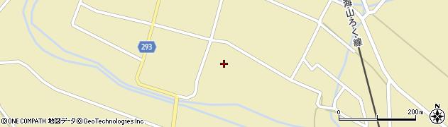 秋田県由利本荘市前郷(滝沢舘)周辺の地図