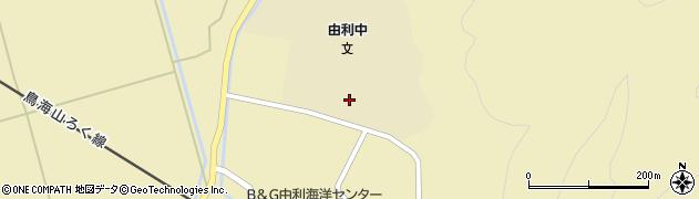 秋田県由利本荘市前郷(根堀台)周辺の地図