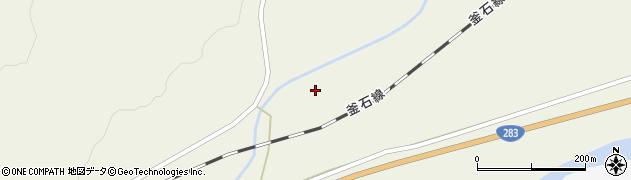 岩手県遠野市綾織町上綾織(22地割)周辺の地図