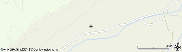 岩手県花巻市東和町倉沢(6区)周辺の地図