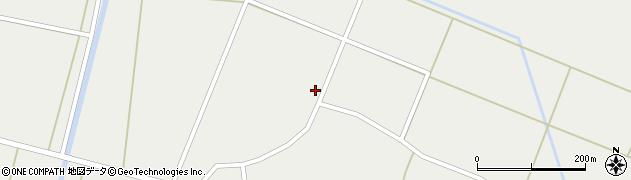 秋田県由利本荘市西目町西目(中ノ目)周辺の地図