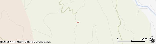秋田県由利本荘市柳生(十二平)周辺の地図