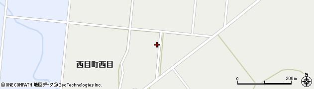 秋田県由利本荘市西目町西目(客殿)周辺の地図
