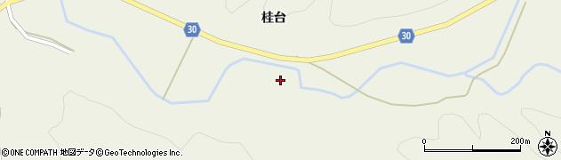 秋田県由利本荘市東由利法内(代三郎)周辺の地図
