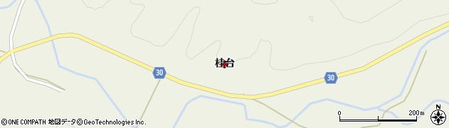 秋田県由利本荘市東由利法内(桂台)周辺の地図