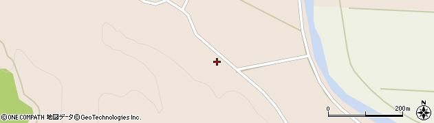 秋田県由利本荘市館(鮎上表)周辺の地図