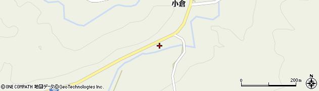 秋田県由利本荘市東由利法内(石塚)周辺の地図