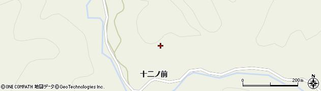 秋田県由利本荘市東由利法内(十二ノ前)周辺の地図