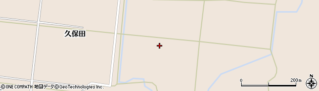 秋田県由利本荘市鮎瀬(元樋脇)周辺の地図