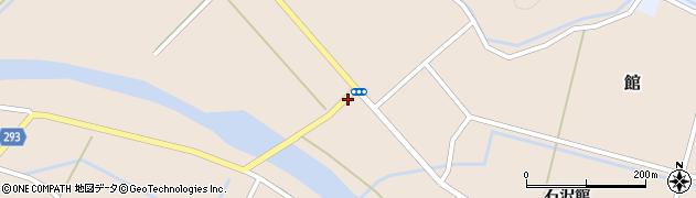 秋田県由利本荘市館(中島)周辺の地図