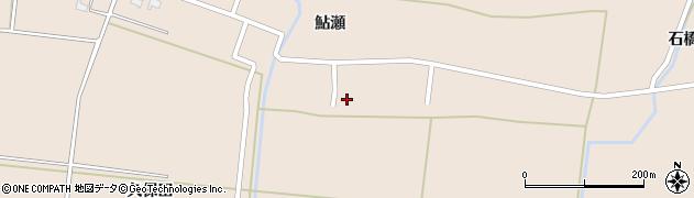 秋田県由利本荘市鮎瀬(樋脇)周辺の地図