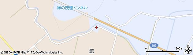秋田県由利本荘市湯沢(外湯沢)周辺の地図