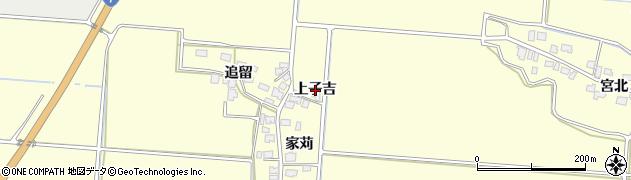 秋田県由利本荘市葛法(上子吉)周辺の地図