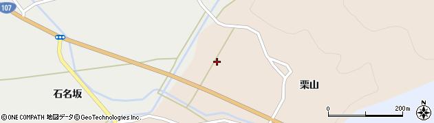 秋田県由利本荘市館(東栗山)周辺の地図