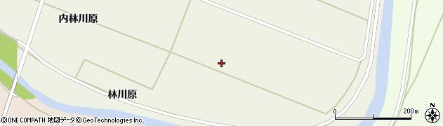 秋田県由利本荘市上野(内福島)周辺の地図